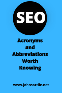 seo acronyms cover