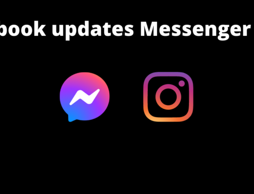Facebook Updates Messenger Logo