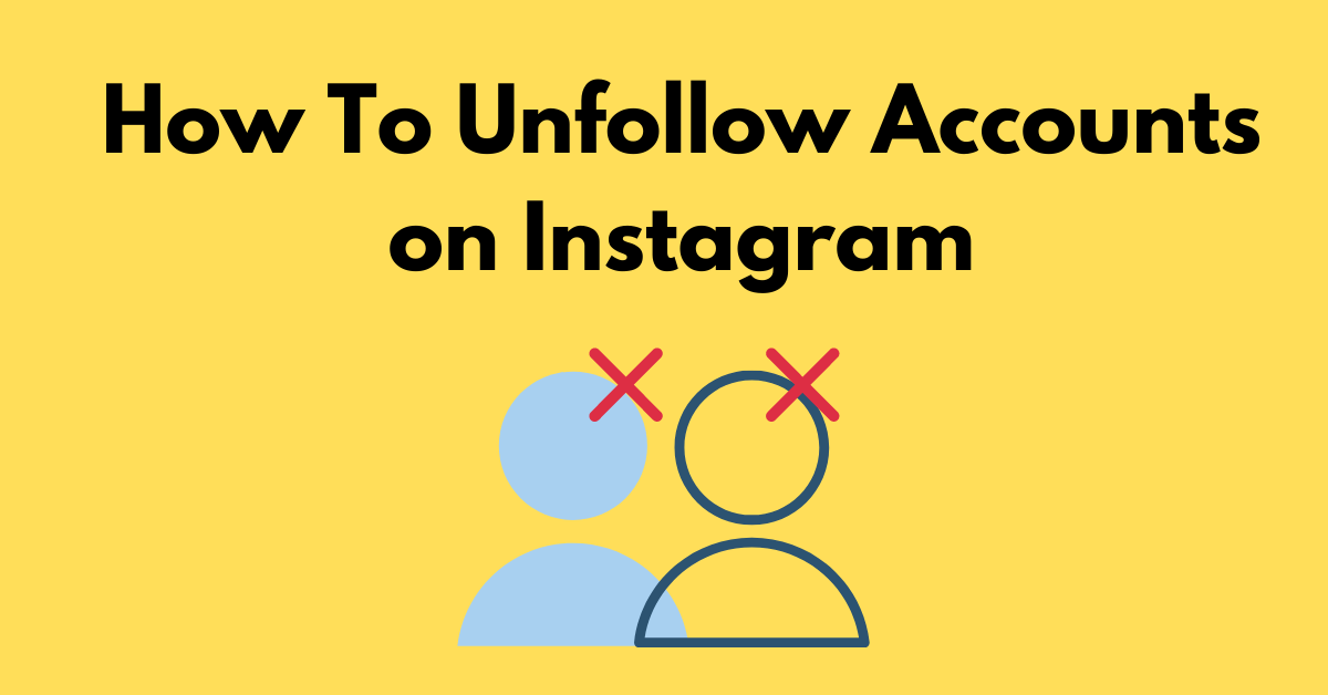 unfollow instagram accounts cover