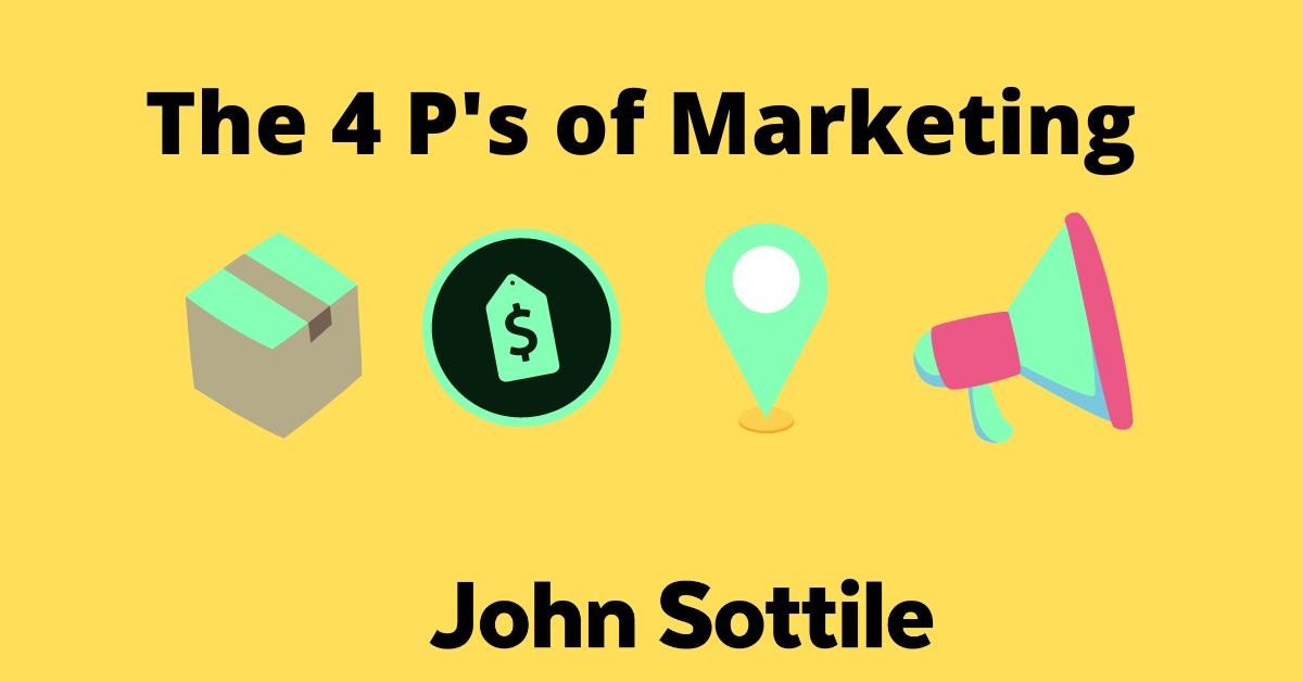 The 4 P's of Marketing cover