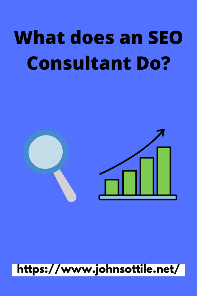 What Does an SEO Consultant do? Pin Cover