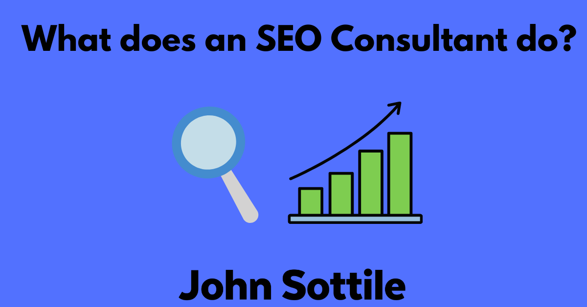 What does an SEO Consultant do